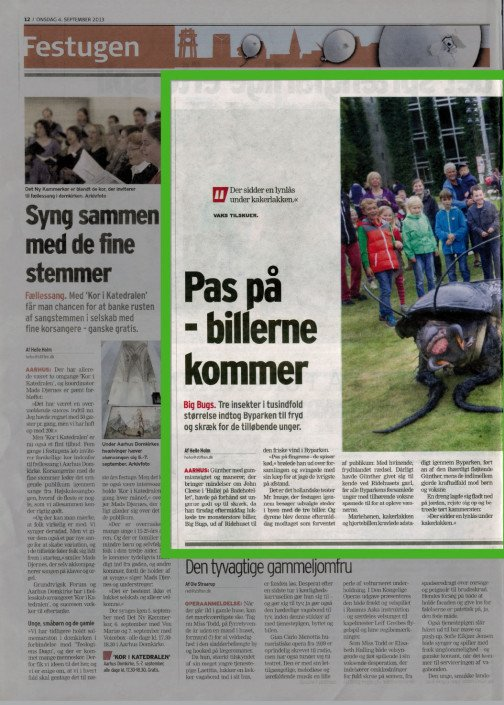 Big Bugs Show - Mr. Image Theatre - Aarhus Festuge