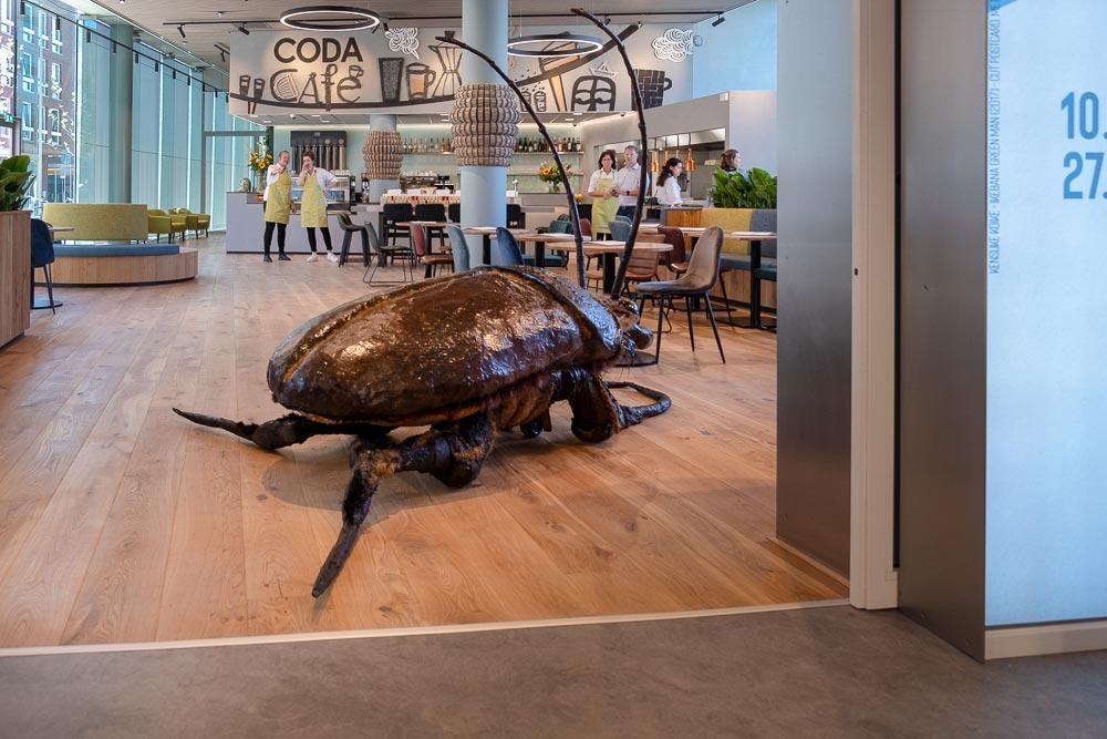 Big Bugs Show in CODA museum Apeldoorn - Groot Vliegend Hert