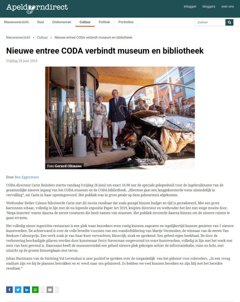 Big Bugs Show in CODA museum Apeldoorn